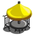 farmville mcdonalds yellow table - blog.games.com