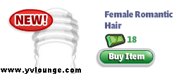 yoville romantic hair