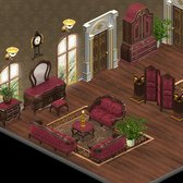 YoVille sneak peek of new Romantic Clothes and Bedroom
