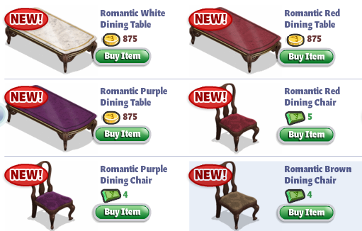 yoville romantic chairs