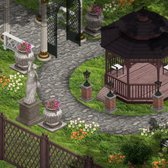 YoVille Stone Decorations arriving for romantic gardens