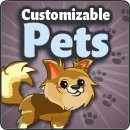 YoVille Customizable Pets