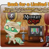 Beware!  PetVille brings back Midnight Crypt collection