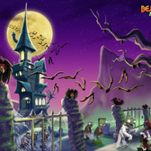 Bejeweled Blitz tricks out your screen with new Halloween wallpapers