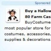 Purchase from BuyCostumes.com, get 80 Free Farm Cash