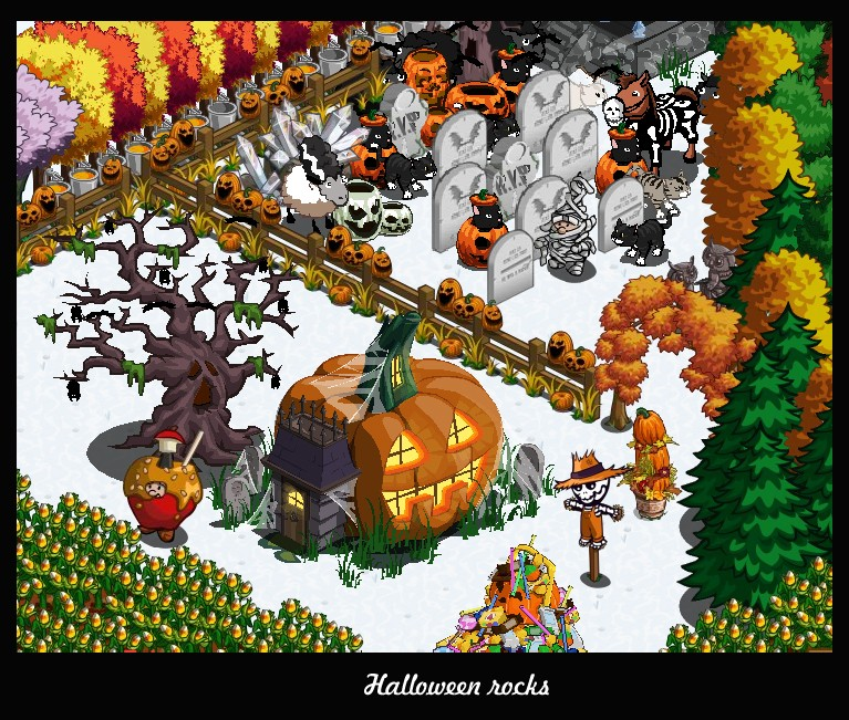 halloween prizes farmville halloween basket -- games.com