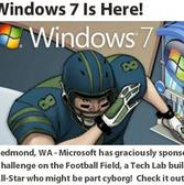 ESPNU College Town and Windows 7: Get techie with Microsoft-themed items