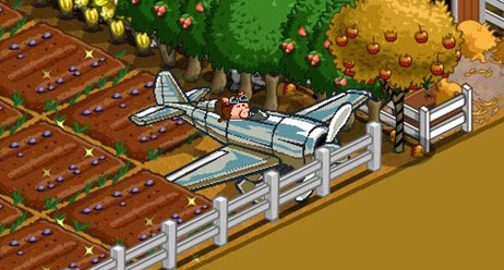 farmville chrome monoplane