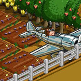 FarmVille Chrome Monoplane for iPhone and other Apple devices!