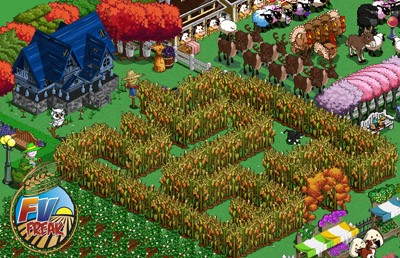 farmville corn maze