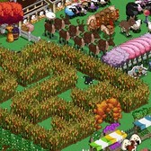FarmVille Halloween Decor Idea: Build your own corn maze