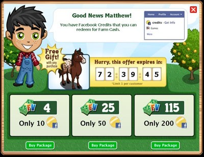 farmville free gift
