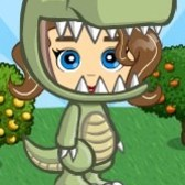 FarmVille Dinosaur Costume: 