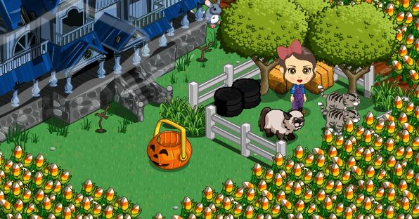 farmville halloween basket