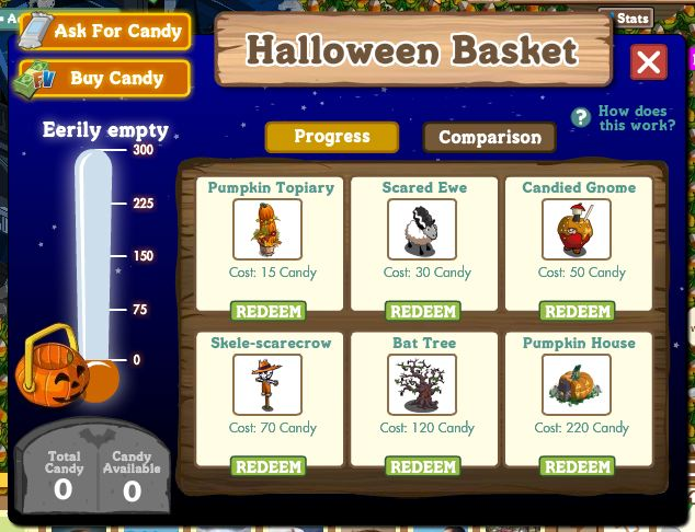 farmville halloween basket - games.com