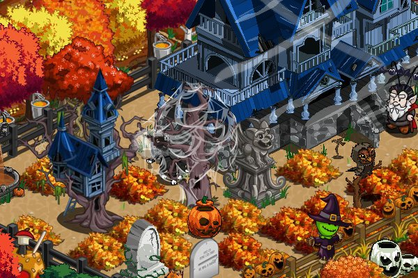 farmville halloween prank