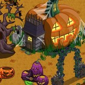 FarmVille Halloween Decorations: Ravens, Wizards, Black Roses, Pumpkins, & More