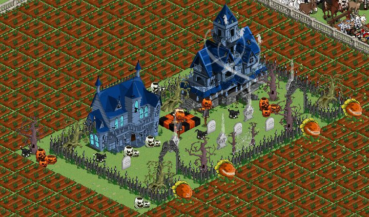 farmville haunted house