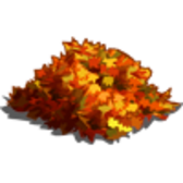 FarmVille Fall Decorations: Autumn Arch, Autumn Gnome, Maple Leaves, & Raked Leaves