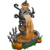 farmville halloween pumpkin fountain