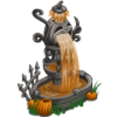 FarmVille Halloween Pumpkin Fountain: A monument to the night of mischief