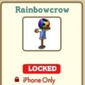 New FarmVille Scarecrow - Rainbowcrow (iPhone Only)
