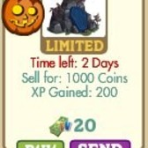 FarmVille Stone Coffin: Could this be the last Halloween item?