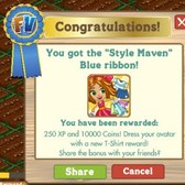 How to earn FarmVille Style Maven Ribbons using coins only