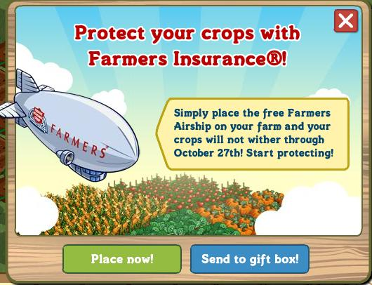 Farmers Insurance Airship