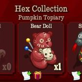 FrontierVille Hex Collection: Complete this for a free Pumpkin Topiary