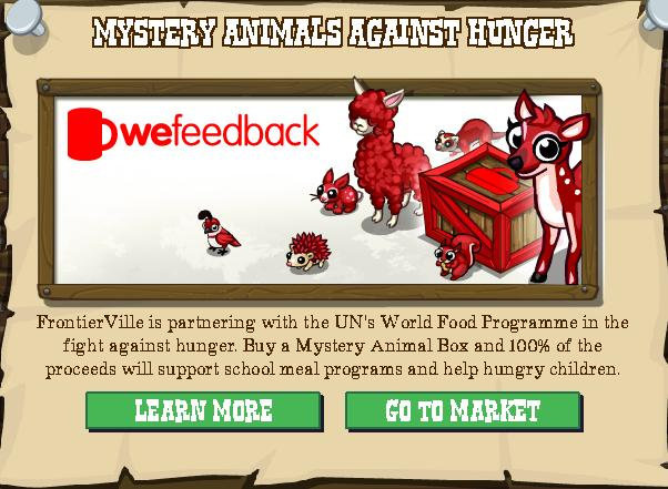 Mystery Animals Against Hunger