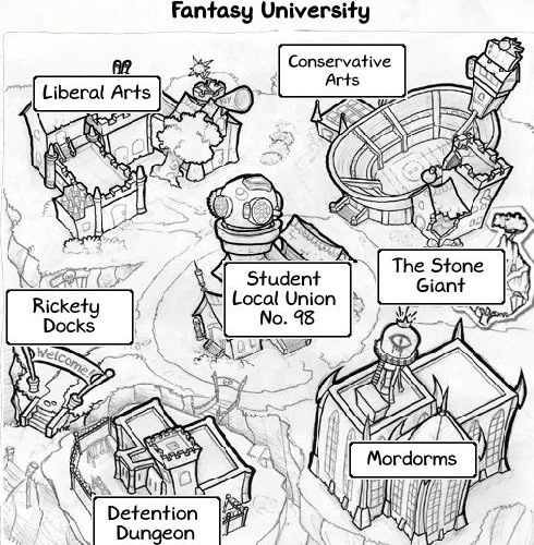 fantasy university on facebook