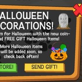 Happy Pets' new Halloween items: Buy 'em or send 'em to friends