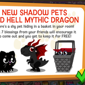 Happy Pets: Shy Basket returns with new Shadow Pets and Hell Mythic Dragon
