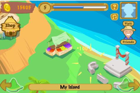 Happy Island on iPhone