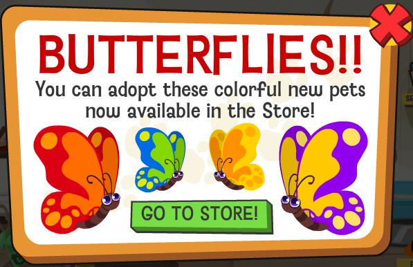 Happy Pets Butterflies