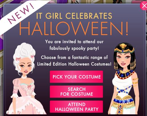It Girl Halloween
