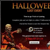 Mafia Wars Halloween Loot Event: Complete jobs and brawl for seven rare costumes