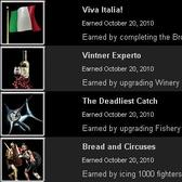 Mafia Wars Italy Achievements are merely a game of numbers