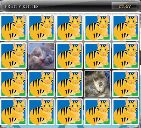 Cute Game of the Day: Match a Petty Kitty