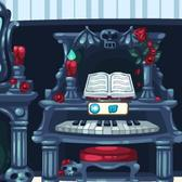 Pet Society's Spooky Furniture: Buy all four pieces for a matching room