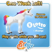 Zynga Lotto: Players have one week left for prize collections