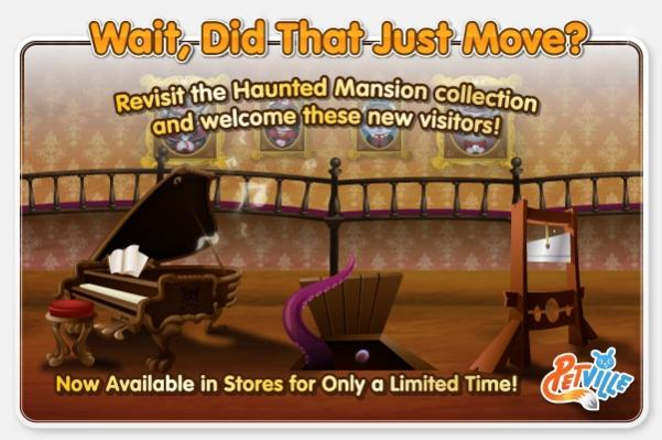 Haunted Mansion Animated Items