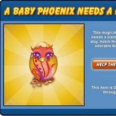 PetVille's flaming Baby Phoenix stealthily introduced for e-mail subscribers