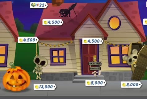 PetVille Halloween Collection