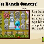Win free Meteor Credits in Ranch Town Halloween Contest
