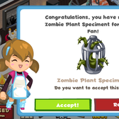 Restaurant City offers Mad Scientist mystery gift and free co