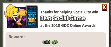 Social City Best Social Game