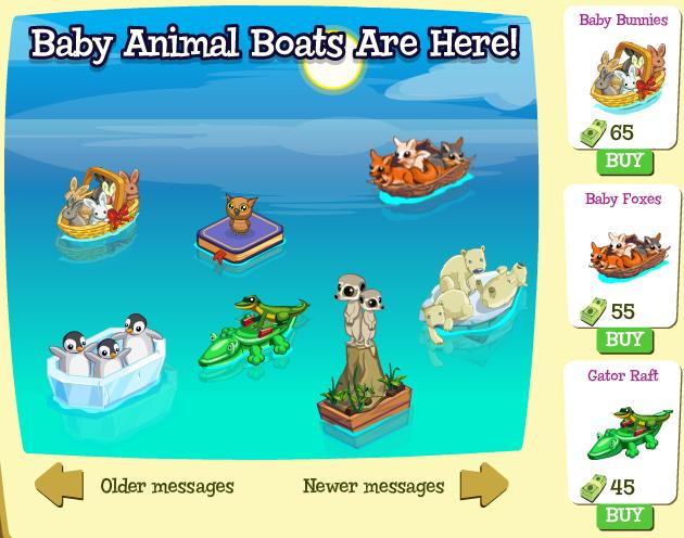 Baby Animal Boats are here!
