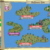 Treasure Isle Hallows Eve map is jam-packed with monstrous Quests